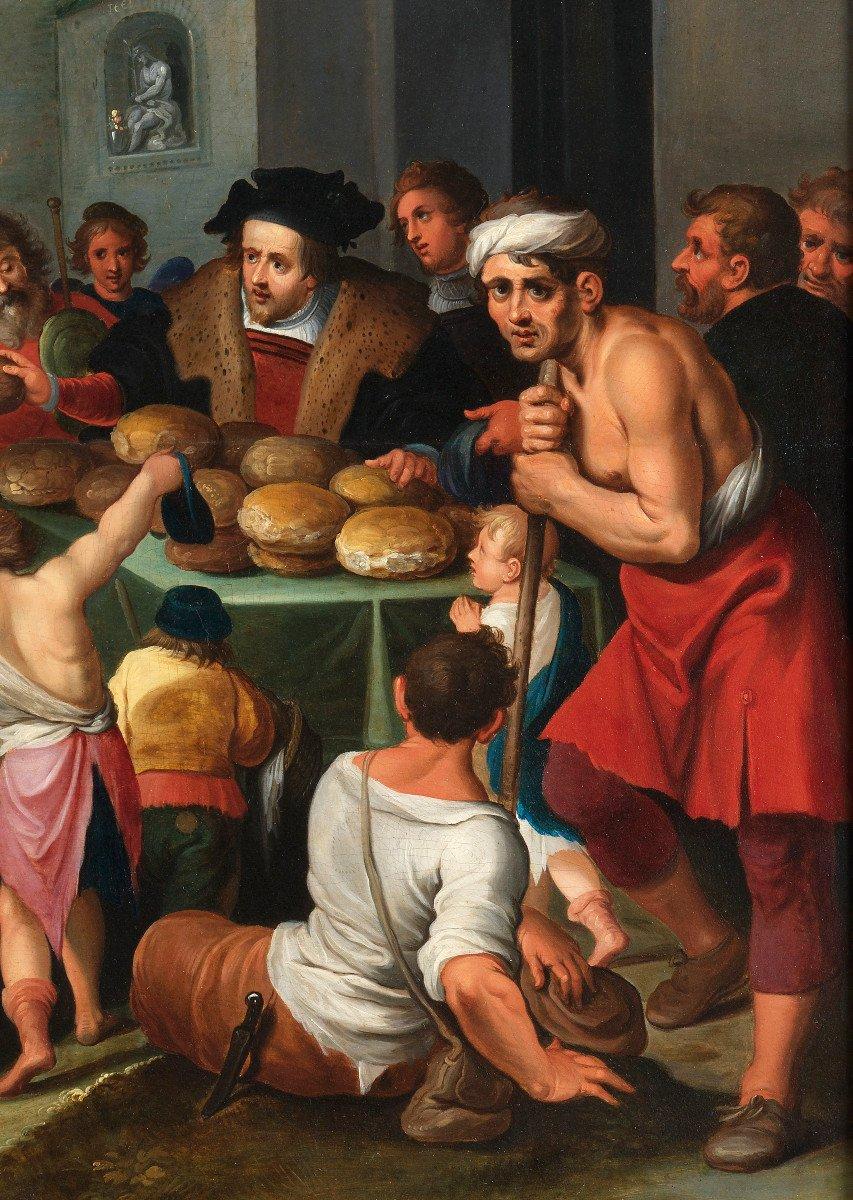Les 7 œuvres De Miséricorde - Frans II Francken Et Atelier Vers 1615-photo-3