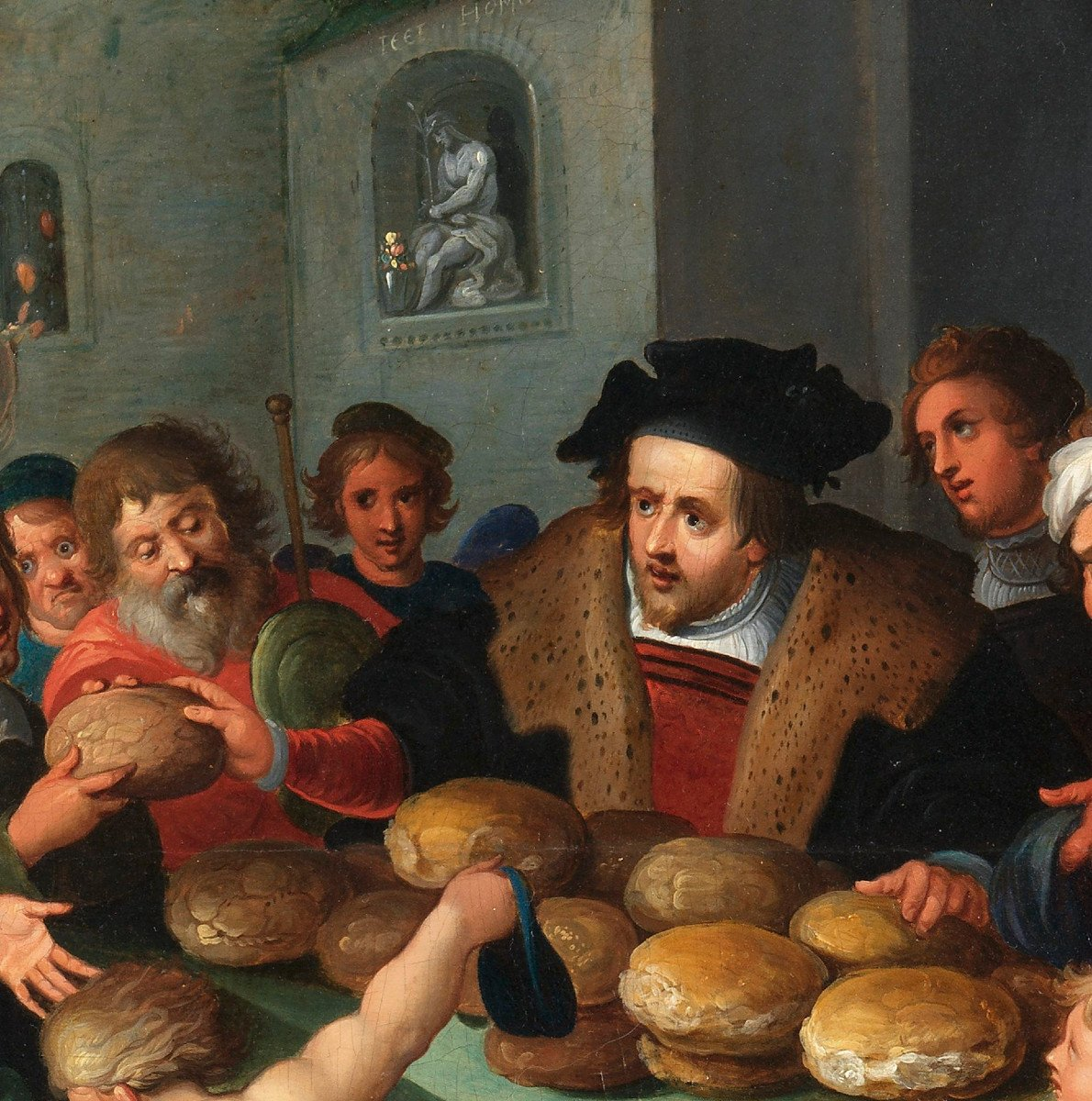Les 7 œuvres De Miséricorde - Frans II Francken Et Atelier Vers 1615-photo-2
