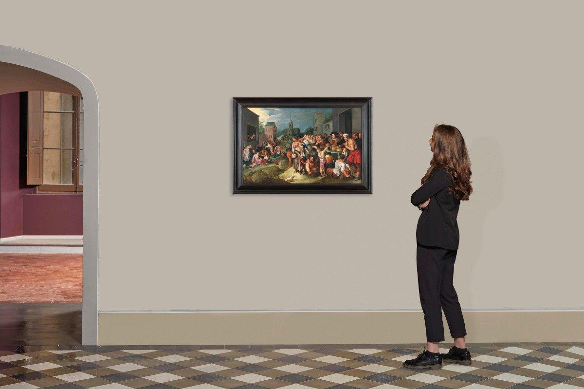 Les 7 œuvres De Miséricorde - Frans II Francken Et Atelier Vers 1615-photo-4
