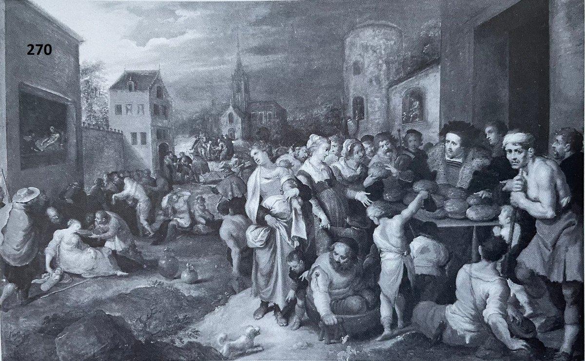 Les 7 œuvres De Miséricorde - Frans II Francken Et Atelier Vers 1615-photo-6