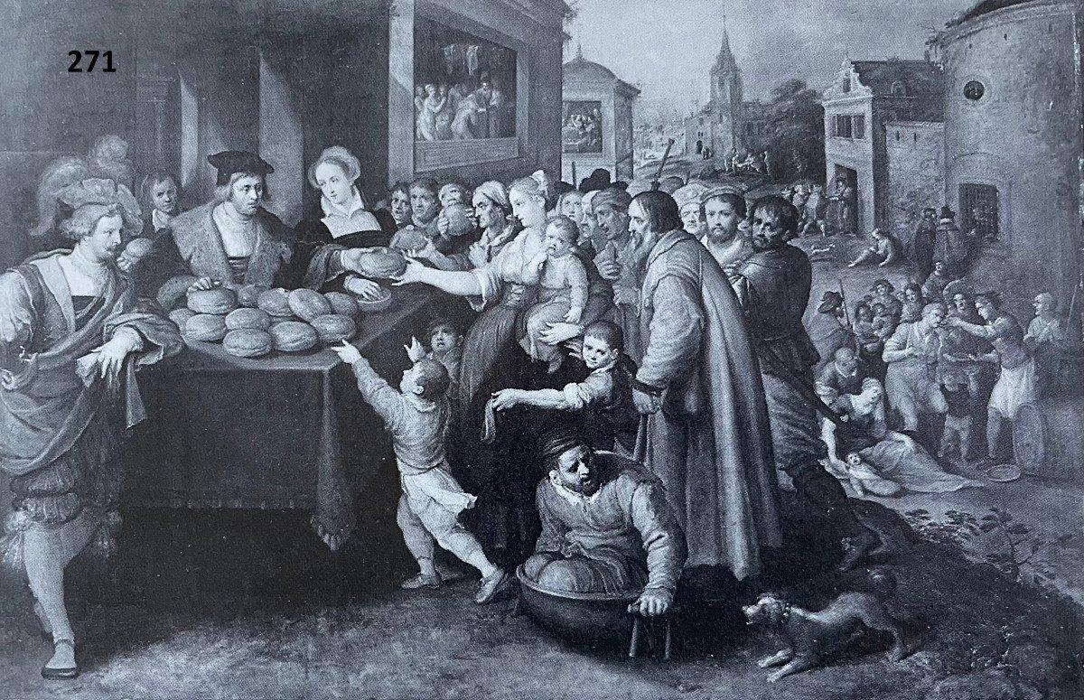 Les 7 œuvres De Miséricorde - Frans II Francken Et Atelier Vers 1615-photo-7