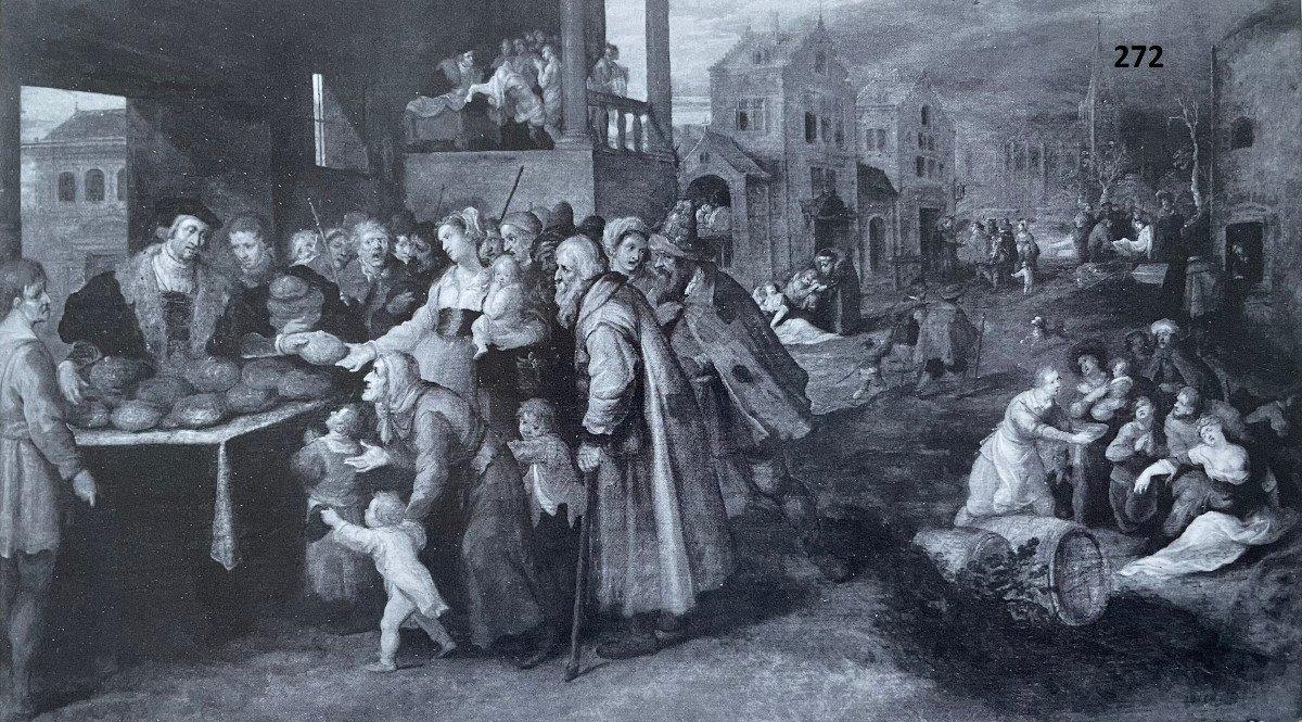 Les 7 œuvres De Miséricorde - Frans II Francken Et Atelier Vers 1615-photo-8