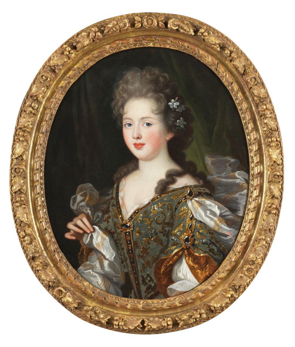 Portrait de jeune princesse – Entourage de Pierre Mignard (1610 – 1695)