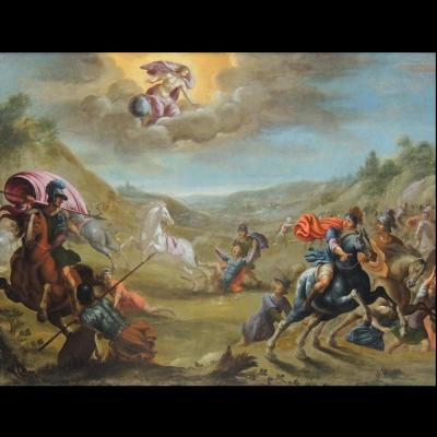 The Conversion Of St Paul - Pauwels Casteels 1649 - 1677