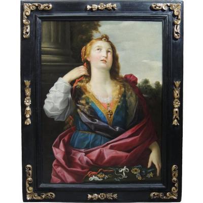 Marie-Madeleine - HST début XVIIème siècle attribuée à Abraham Janssens