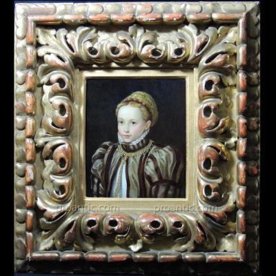 Princesse de la Renaissance vers 1560 – Attribuée à Sofonisba Anguissola.