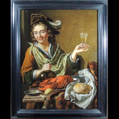 Atelier de Hendrick ter Brugghen (1588 – 1629) – Allégorie d