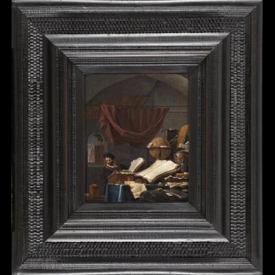 Alchemist's Cabinet - Thomas Wyck (1616 - 1677)