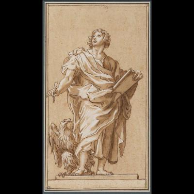 St John The Evangelist - Circle Carlo Maratta (1625 - 1713)