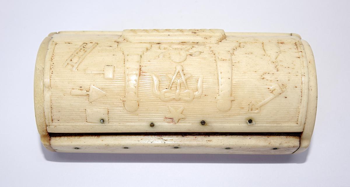 Freemasonri, Snuff Box, 19th, Masonic