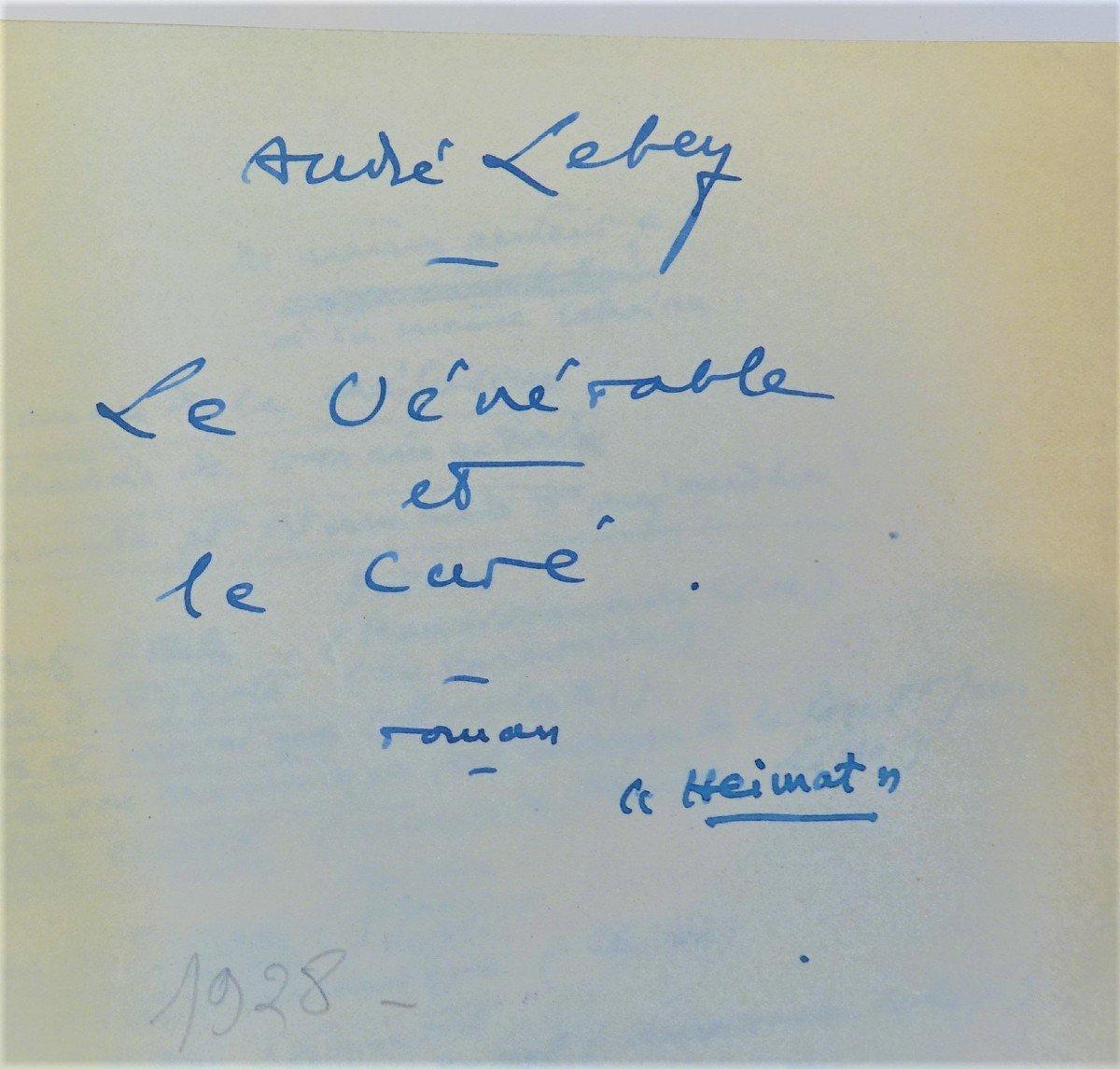Freemasonry Manuscript A. Lebey 1928-photo-1