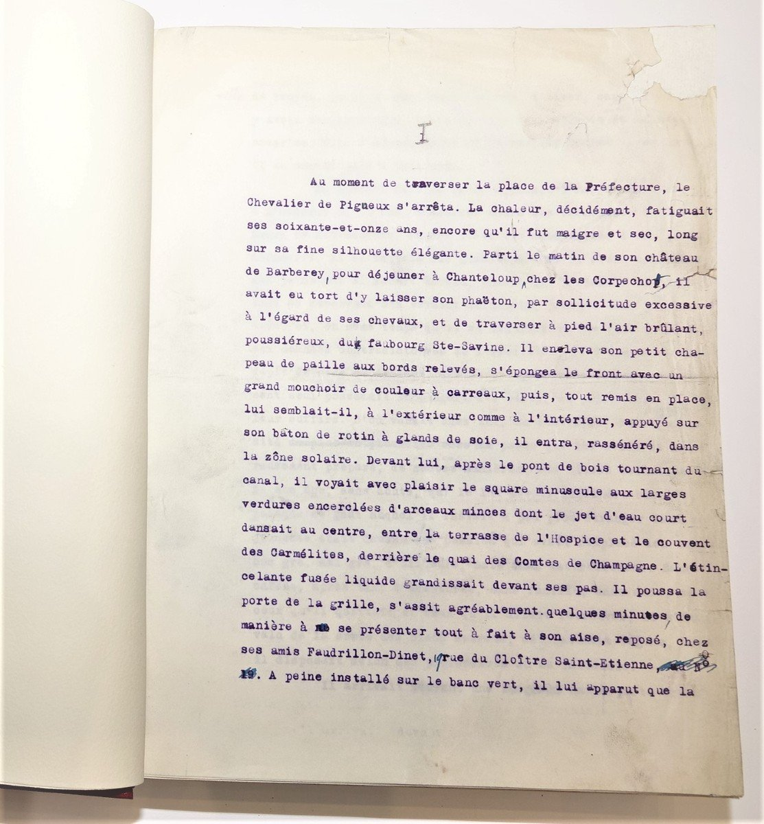 Freemasonry Manuscript A. Lebey 1928-photo-3