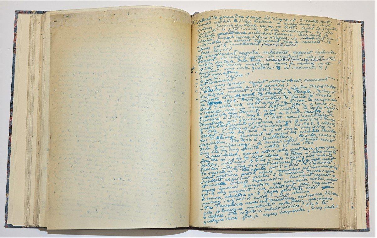 Freemasonry Manuscript A. Lebey 1928-photo-5