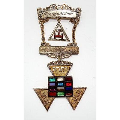 Freemasonry, Jewel Of The Royal Arky 1911, Masonic