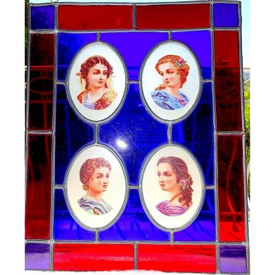 19th Century Stained Glass Window