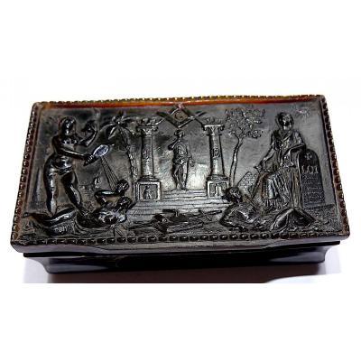 Masonic Snuff Box 19 Th