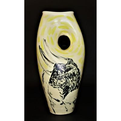 Vallauris Vase Marc Piano 1980