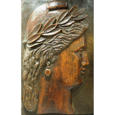 Marianne Profil In Wood 1889