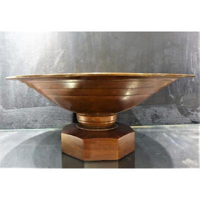 Artdeco Cup In Dinanderie 1930