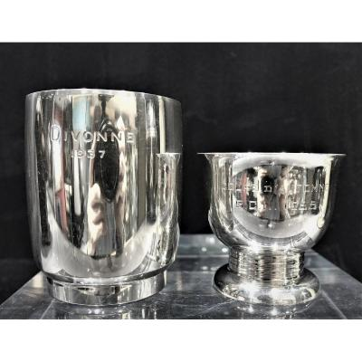 Two Golf Cups In Silver 1937 & 1955