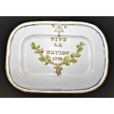 Freemasonry Dish 1792