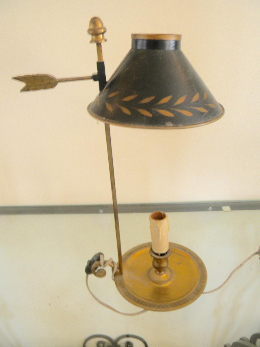 Hot Water Bottle Lamp 19th Century