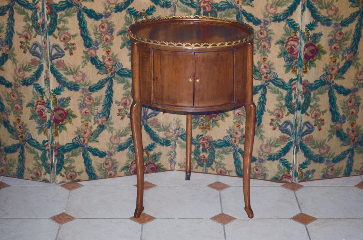 Hot Water Bottle Table In Cherry 19th Century