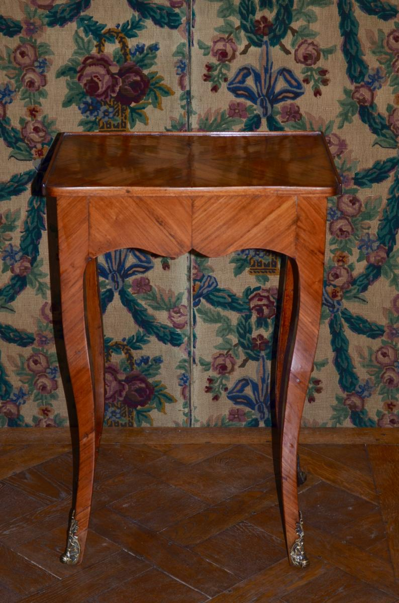 Writing Table In Rosewood Louis XV
