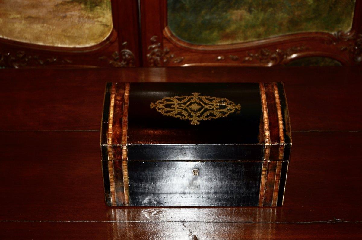 Boite A Thé Napoléon III