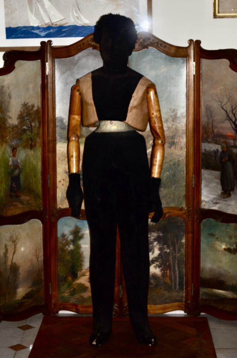 grand Mannequin De Couture Debut 20eme Siècle
