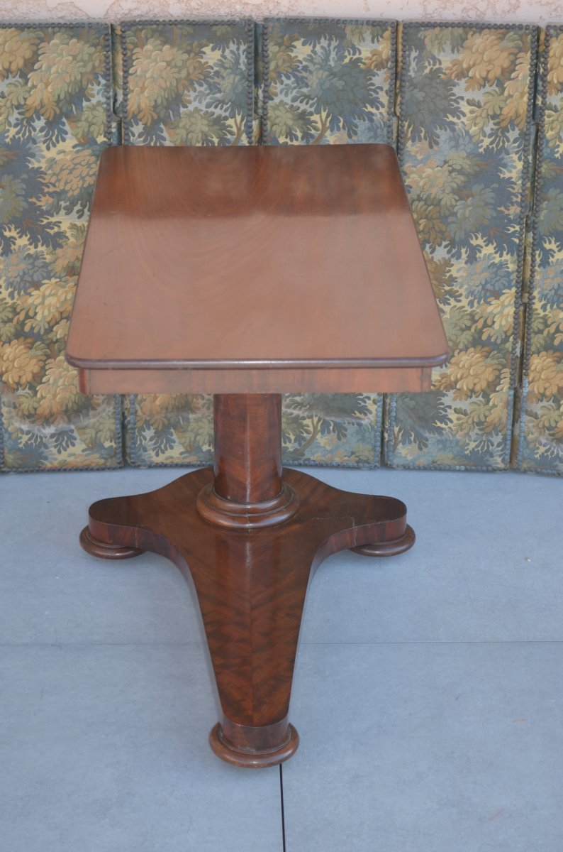 Mahogany Rack Pedestal 19th Century