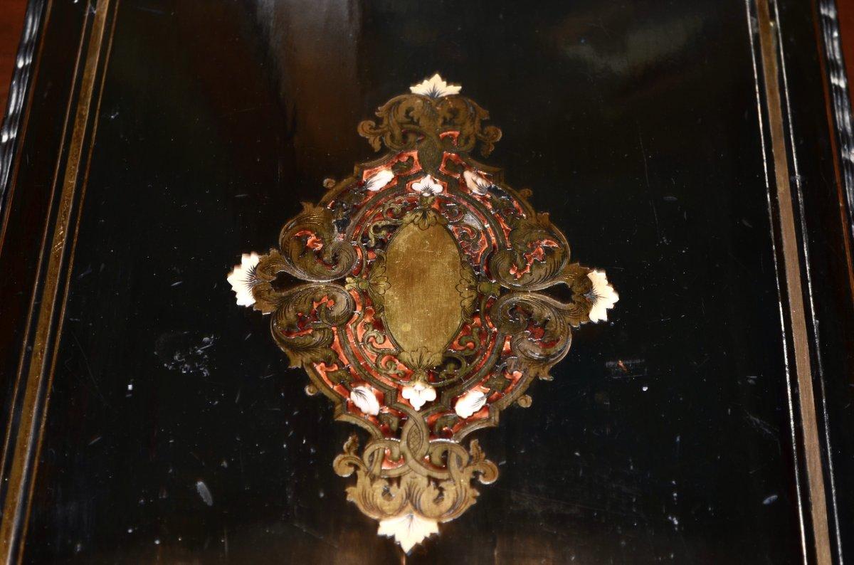 Coffret d'époque Napoléon III Signé Tahan -photo-3