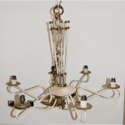 lustre ancien sur proantic design ann es 50 60 20 me si cle. Black Bedroom Furniture Sets. Home Design Ideas