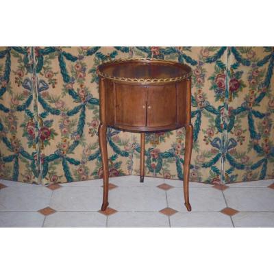 Table Bouillotte En Merisier époque 19eme Siècle