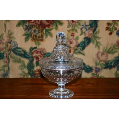 Baccarat Crystal Drageoir Early 20th Century