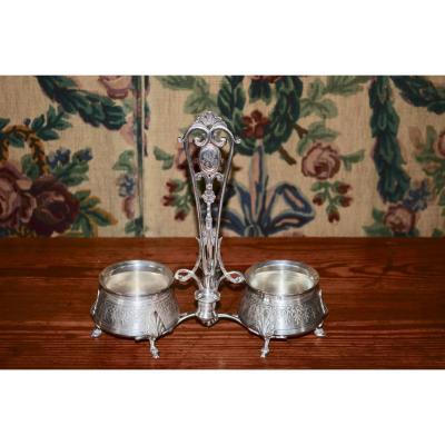 Oiler / Vinegar In Sterling Silver Napoleon III