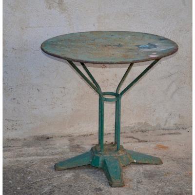 Table De Jardin En Fer époque Art déco