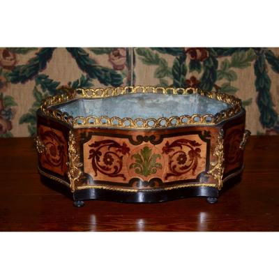 In Table Marquetry Table Napoleon III
