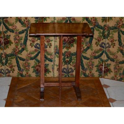 Table d'Appoint En Noyer époque 18eme Siècle
