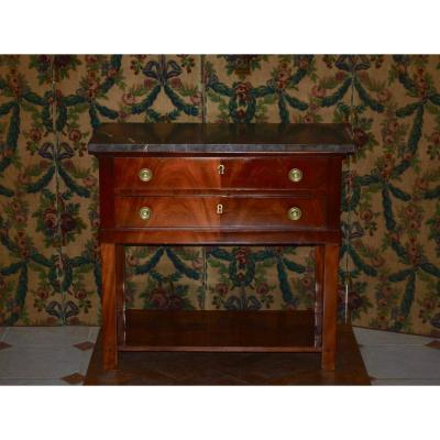 Console / Serving Mahogany Empire Time
