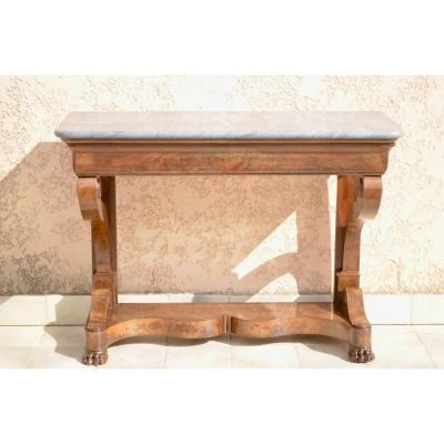 Empire Walnut Console
