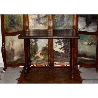 Walnut Table XIXth Century
