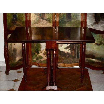 Gateleg Mahogany Table 19th Century