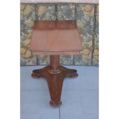 Mahogany Rack Pedestal 19th Century