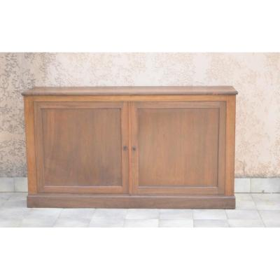 Buffet / Sideboard In Walnut 19th Century