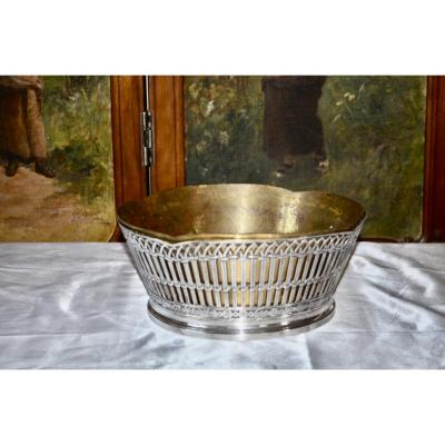 Risler & Carré Sterling Silver Table Planter