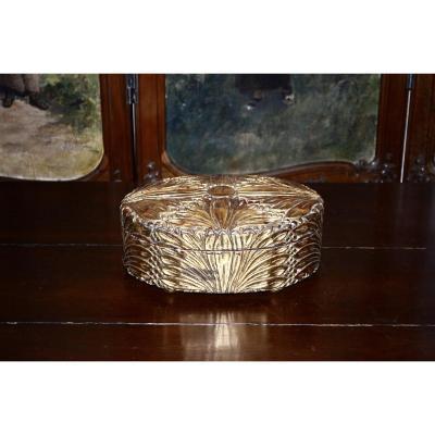 19th Century Golden Wood Box