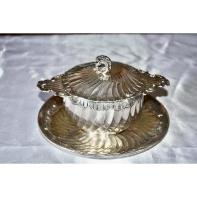 Bouillon In Sterling Silver End XIXth Century