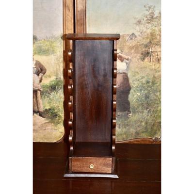 Porte Couteaux En Noyer 19eme Siècle