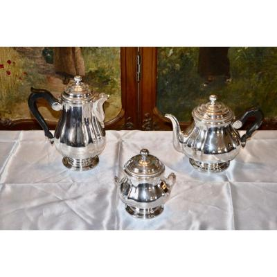 Tea / Coffee Service In Sterling Silver